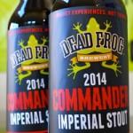 Now Sampling: 2014 Dead Frog Commander Imperial Stout