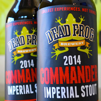 Dead Frog Commander Imperial Stout