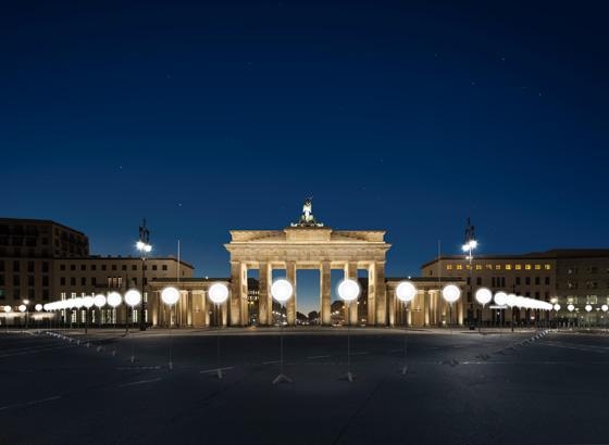 Light Project Visualisierung BBT ©Kulturprojekte Berlin