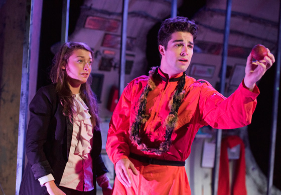 Narrator and The Commander; photo by Emily Cooper