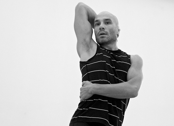 Sean Ling photo by Makoto Hirata courtesy of Peggy Baker Dance Projects