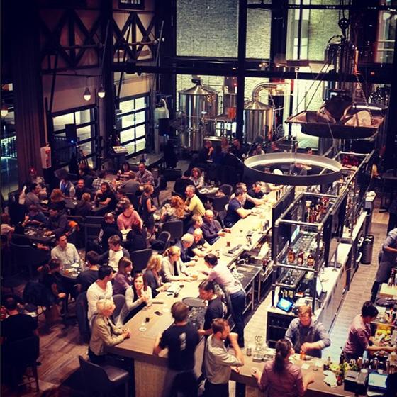 Steel Toad crowd on main floor