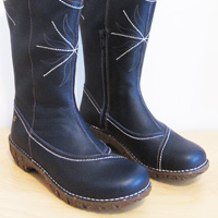 Yggdrasil boot detail