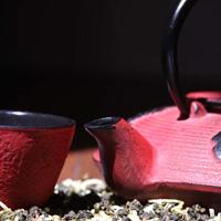 Tea Sparrow tea pot image