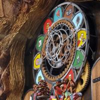 Portland cuckoo clock