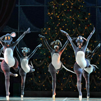 RWB Nutcracker on stage