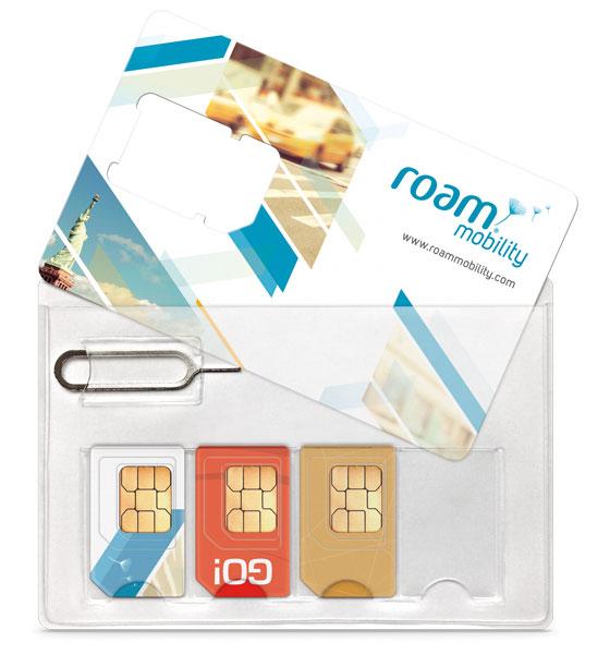 Roam Mobility SIM Holde