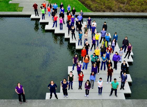 SFU Choir Group photo