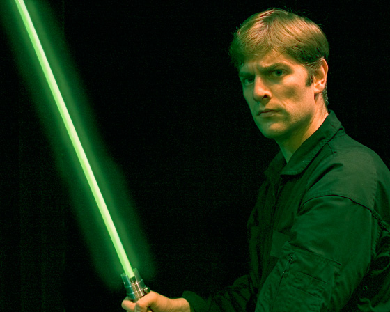 Charles Ross in One-Man Star Wars Trilogy