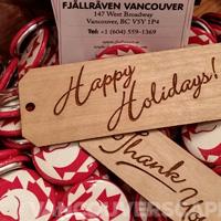Fjallraven pop up store, Vancouver