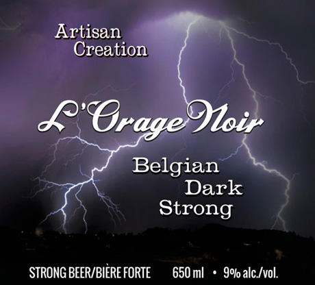 LOrage Noir Label
