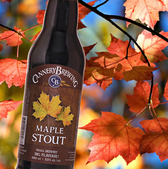 Cannery Brewing Maple Stout