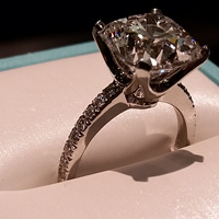 Tiffany & Co. Novo engagement ring