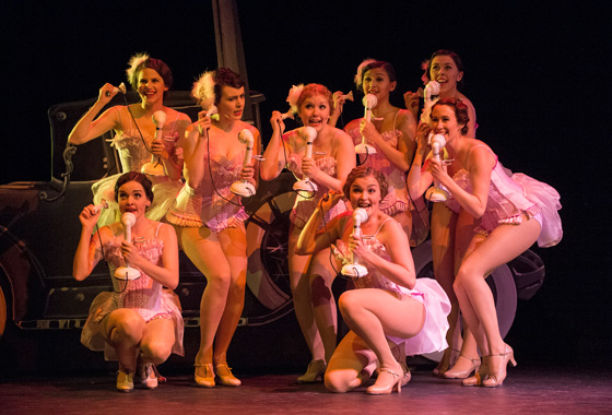 The Follies in Crazy For You