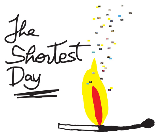 The Shortest Day event banner