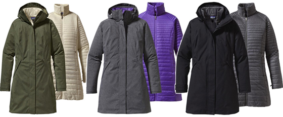 Vosque 3-in-1 Parka colour range
