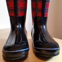 BOGS Classic Winter plaid boot