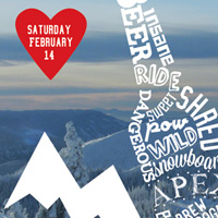 Brewski at Apex Mountain 2015 poster