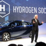 2015 CES Press Day: Toyota Welcomes the World to a Hydrogen-Fueled Society