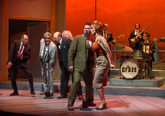 One Man Two Guvnors cast