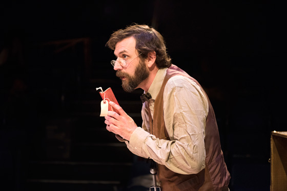 Nathan Schmidt in Underneath the Lintel