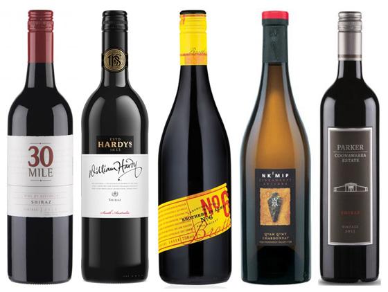VIWF wine bottles
