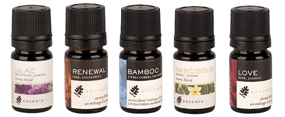 Escents Aroma oil blends