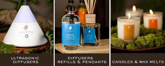 Escents Aromatherapy products