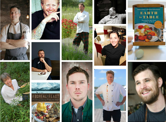 Coast to Coast chefs