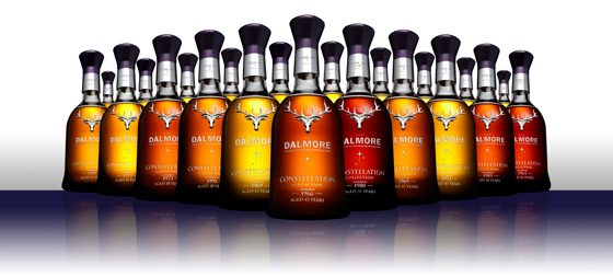 The Dalmore Constellation Range