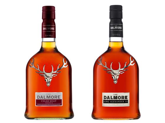 The Dalmore whiskies