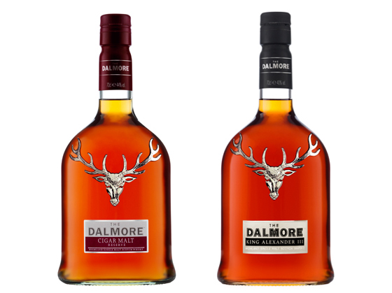 The Dalmore whiskies