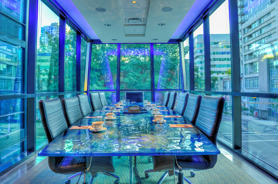 Hotel BLU Pacific Boardroom