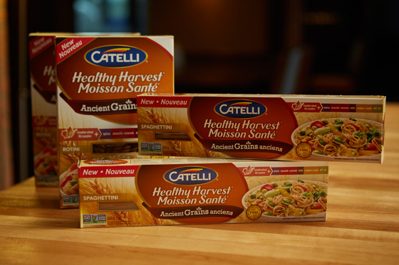 Catelli Healthy Harvest Ancient Grains pasta assortment