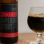 Now Sampling: 2015 Dead Frog Commander Imperial Stout