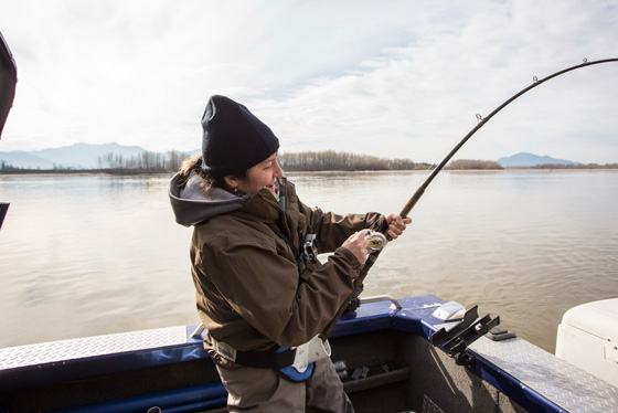 Fishing with Fraser River Lodge, 2015