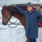 Time to Giddy Up with a Winter Horseback Ride at Hatfield Farm