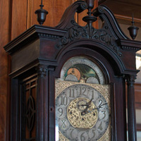 Lord Nelson Hotel grandfather clock, Halifax