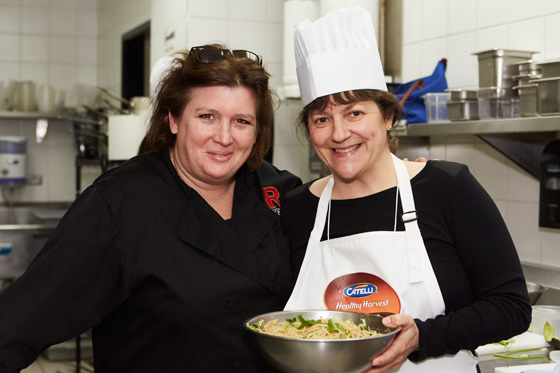 Chef Lynn Crawford and Ariane Colenbrander of Vancouverscape