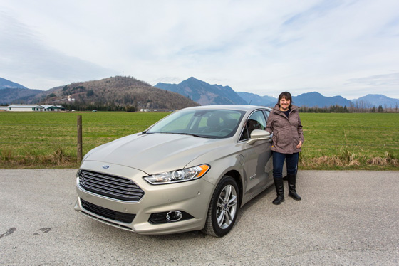 Me and Ford Fusion
