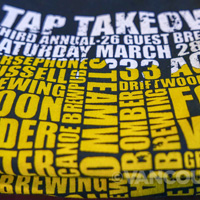 2015 HSB Tap Takeover t-shirts