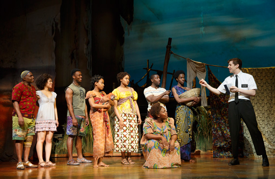 Book of Mormon Company; photo by Joan Marcus