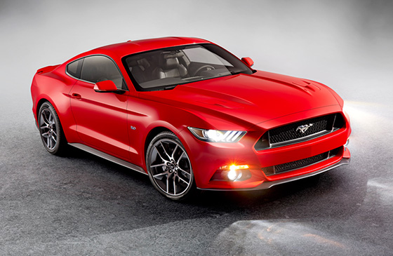 2015 Ford Mustang; photo courtesy of Ford Canada
