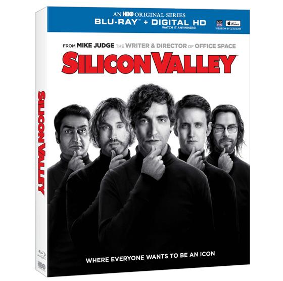 Silicon Valley Blu-Ray box