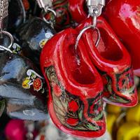 Dutch clog keychain souvenirs