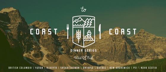 Coast to Coast Dinner Series banner
