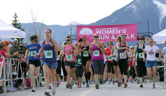 Rocky Mountain Soap Company Women's Run and Walk, Vancouver