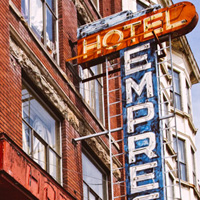 Empress Hotel neon sign, Vancouver