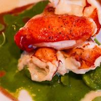 Nova Scotia lobster at Edible Canada