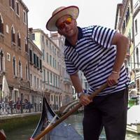 Venice, Italy gondolier